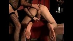 Milking and prostate massage with ejaculation