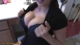 Busty mom sucking and fucking her son compilation