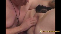 Fat british wife fucked by hubby on camera
