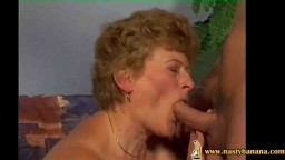 German granny not ready to retire from cock fucking